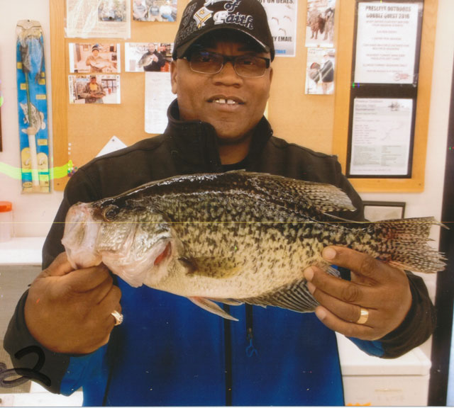 Anthony Randle caught this 2.62-pound crappie