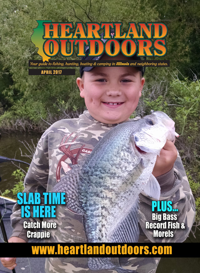 Heartland Outdoors April 2017 cover