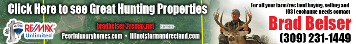 Brad Belser real estate hunting property Illinois