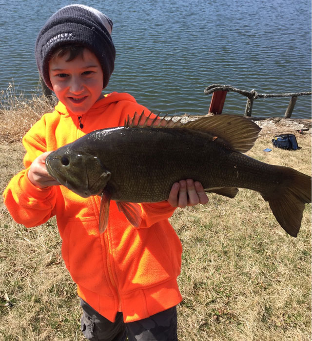 Cash Kinsey 6 pound Smallmouth bass