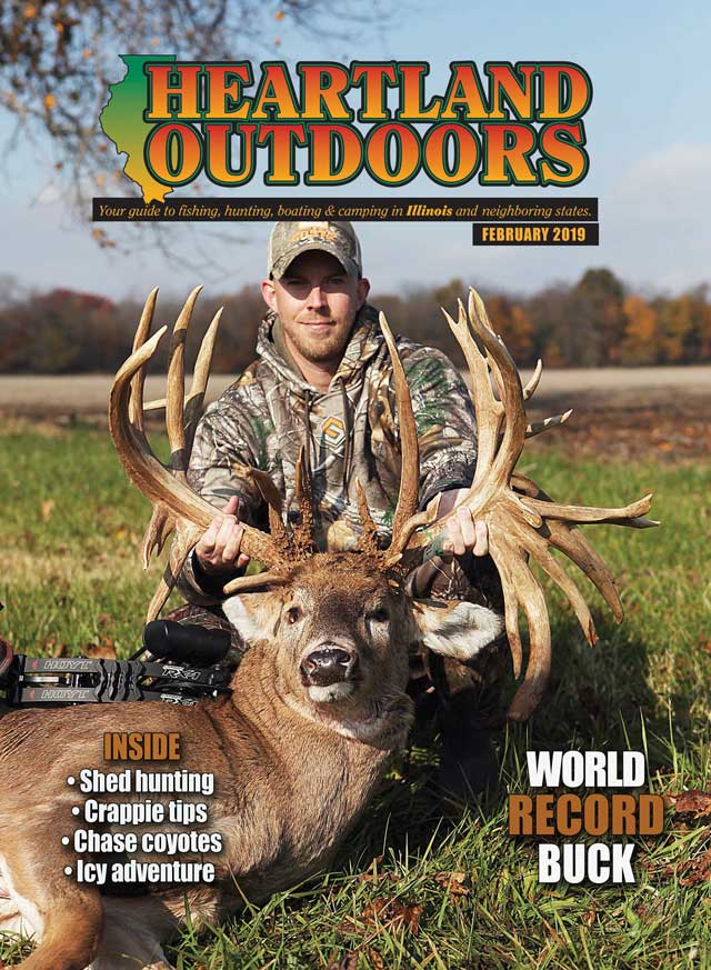 february cover heartland outdoors record buck