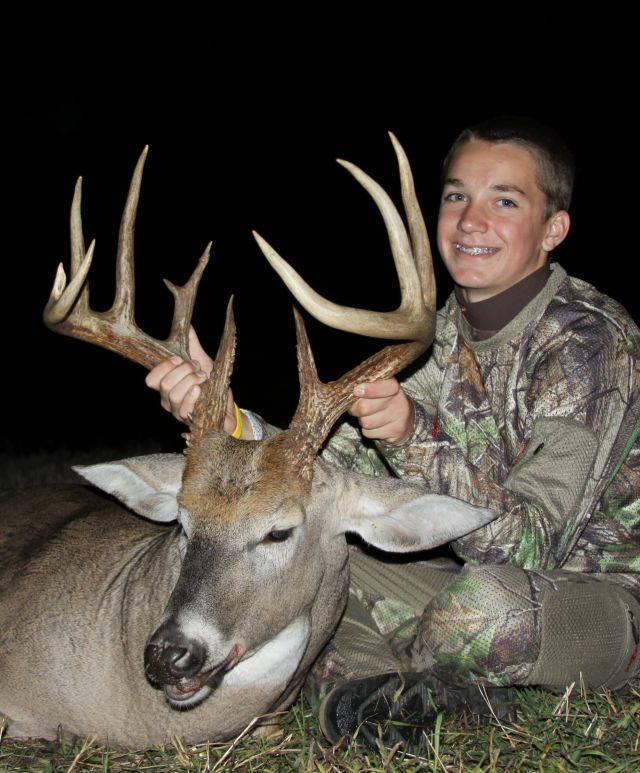 youth hunt buck