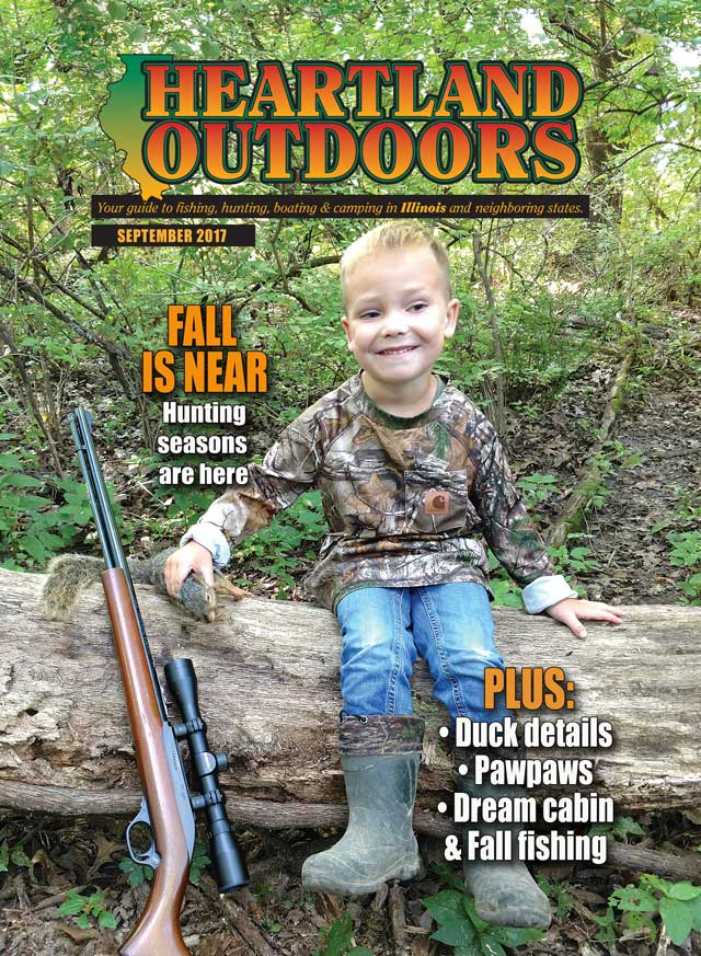 Heartland Outdoors cover squirrel Illinois hunting
