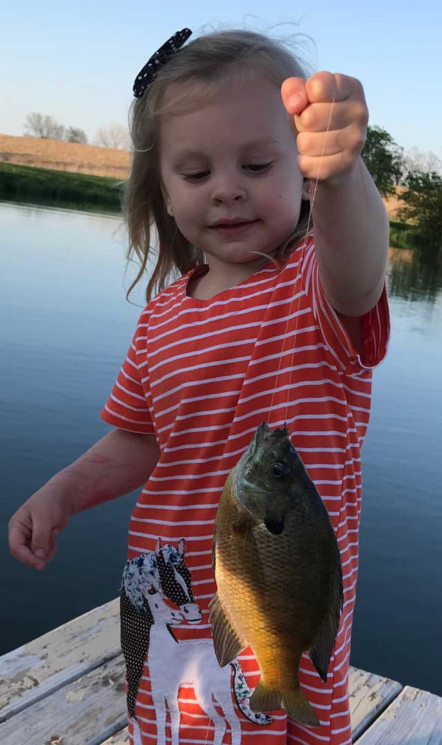 peoria county pond fishing