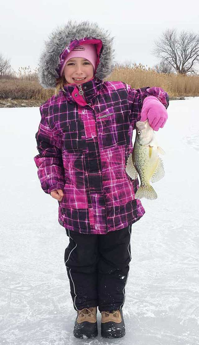 Josh Gale's daughter crappie
