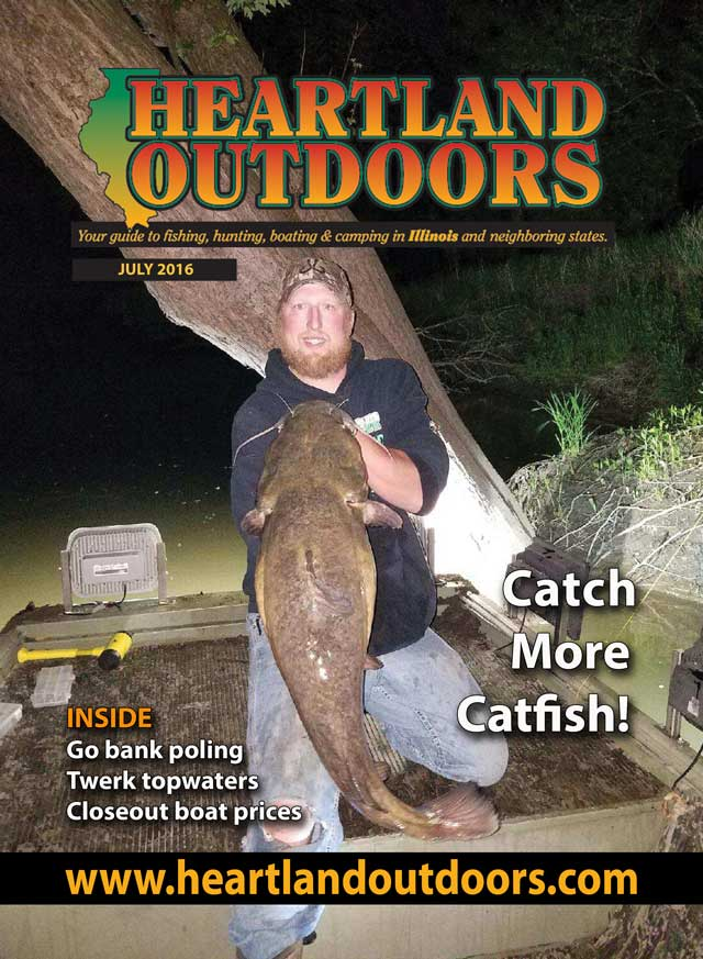 July 2016 Heartland Outdoors cover