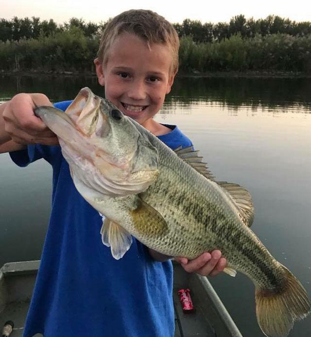 bass fishing know county