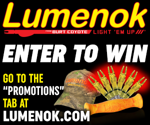 Lumenok Heartland Outdoors Prize Drawing