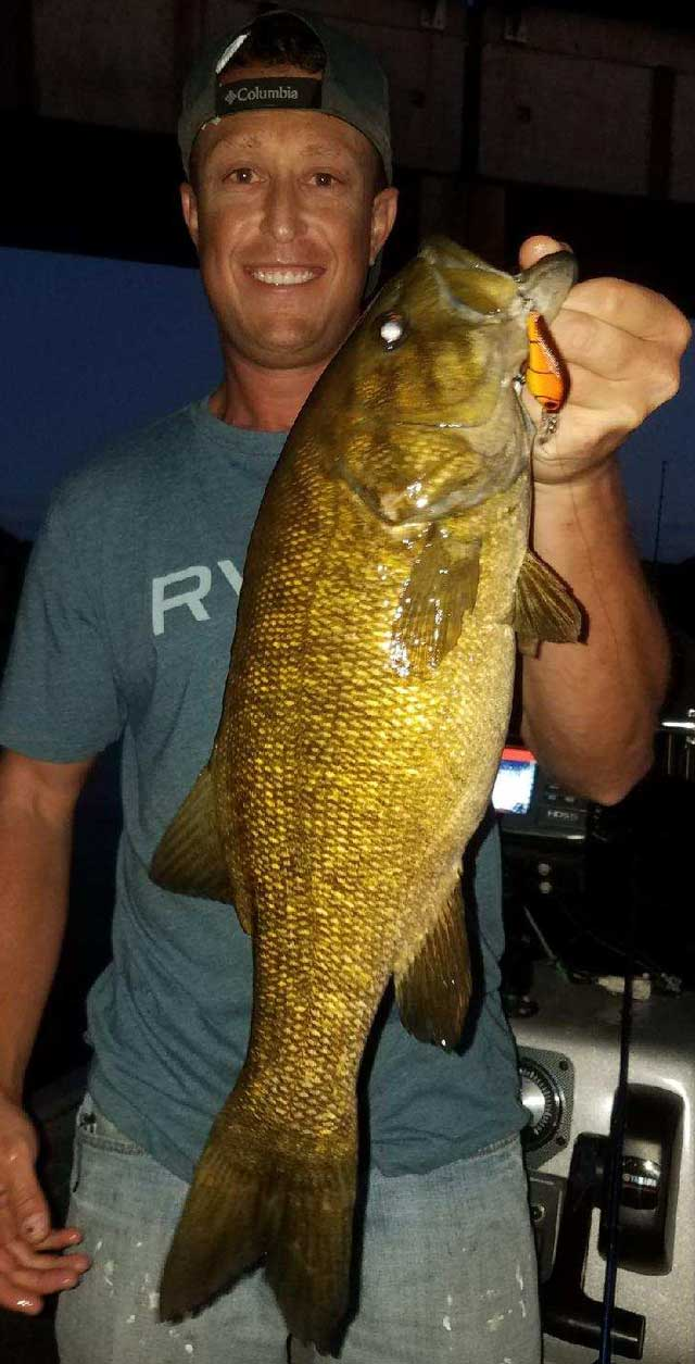 kankakee river smallmouth bass