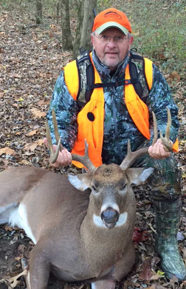 Tom Muraski shot this 8 pointer buck on November 19 in Jefferson county.