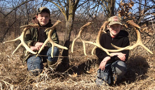 Nick and Mathew Anderson Antlers