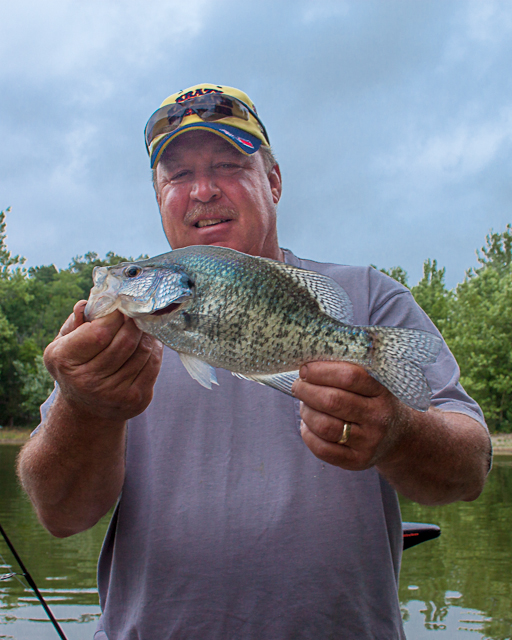 Heartland outdoors through the lens kentucky crappie for Crappie fishing in ky
