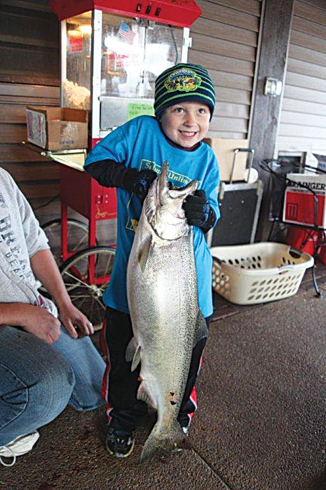 salmon winner kid