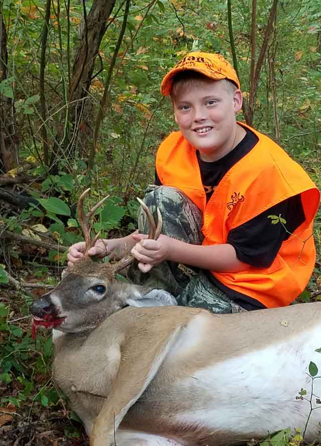 youth deer illinois buck