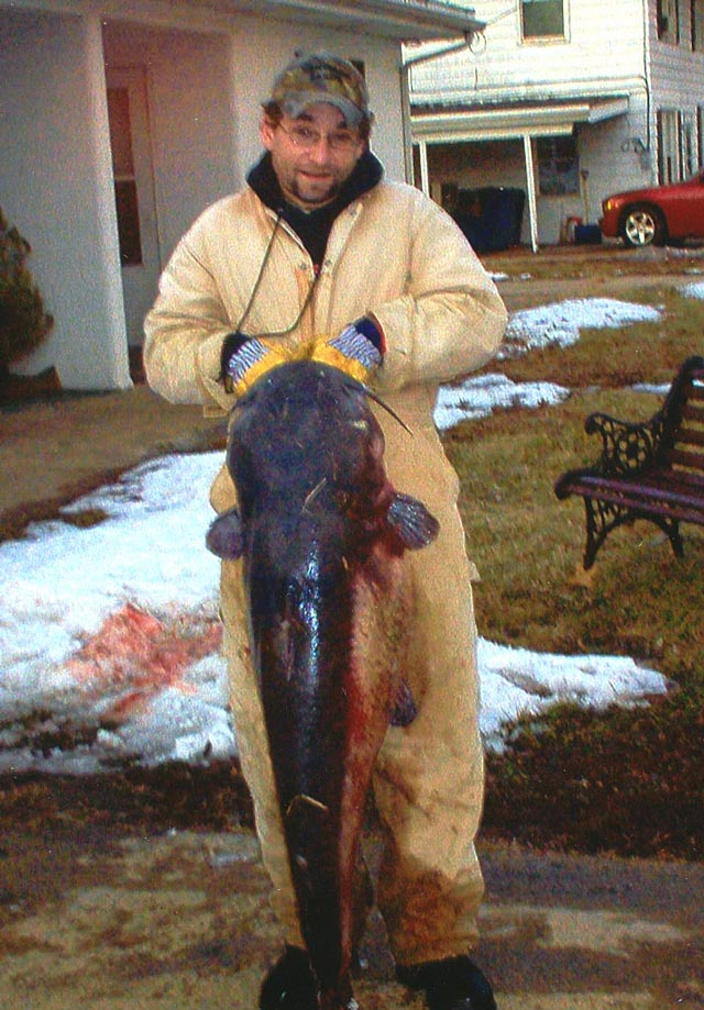 Nate Mitzelfelt Blue Catfish
