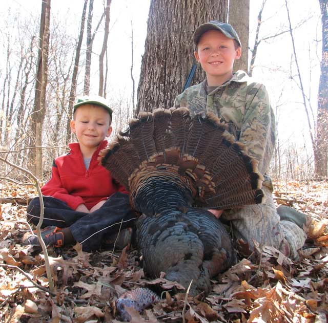 Wade and Grant Probst Turkey