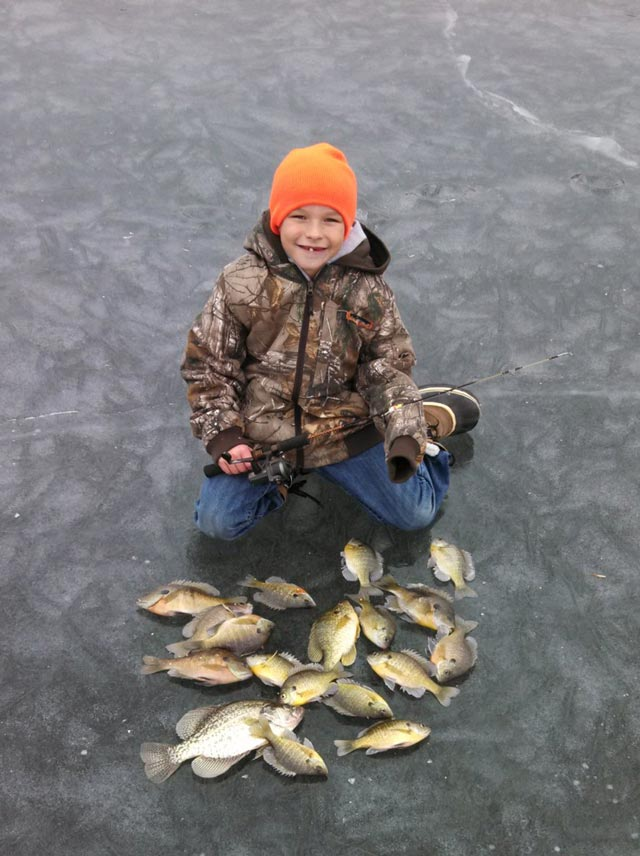 Camron Rokos Ice Fishing