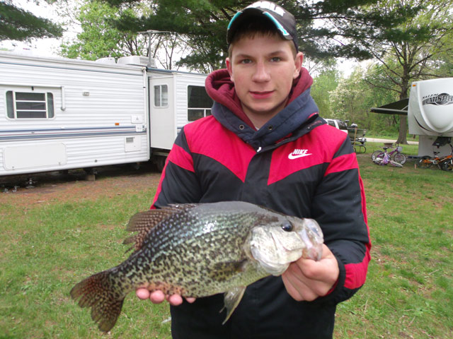 Gage Stone Crappie