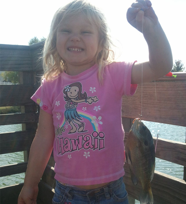 Gabby Wisher Bluegill